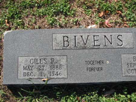 BIVENS, GILES R. - Poinsett County, Arkansas | GILES R. BIVENS - Arkansas Gravestone Photos