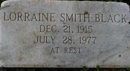 SMITH BLACK, LORRAINE - Poinsett County, Arkansas | LORRAINE SMITH BLACK - Arkansas Gravestone Photos