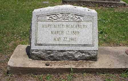 BLACKBURN, MARY ALICE - Poinsett County, Arkansas | MARY ALICE BLACKBURN - Arkansas Gravestone Photos