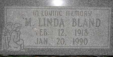 BLAND, M. LINDA - Poinsett County, Arkansas | M. LINDA BLAND - Arkansas Gravestone Photos