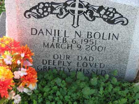 BOLIN, DANIEL N. - Poinsett County, Arkansas   DANIEL N. BOLIN - Arkansas Gravestone Photos