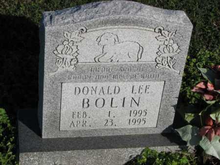 BOLIN, DONALD LEE - Poinsett County, Arkansas | DONALD LEE BOLIN - Arkansas Gravestone Photos