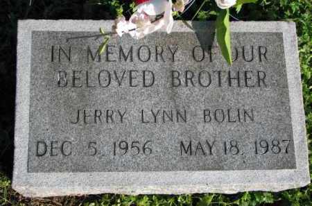 BOLIN, JERRY LYNN - Poinsett County, Arkansas | JERRY LYNN BOLIN - Arkansas Gravestone Photos