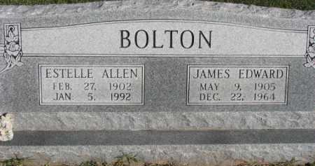 BOLTON, JAMES EDWARD - Poinsett County, Arkansas | JAMES EDWARD BOLTON - Arkansas Gravestone Photos