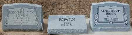 BOWEN, CLARA THELMA - Poinsett County, Arkansas | CLARA THELMA BOWEN - Arkansas Gravestone Photos
