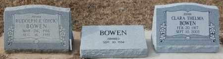 BOWEN, RUDOLPH E. (DICK) - Poinsett County, Arkansas | RUDOLPH E. (DICK) BOWEN - Arkansas Gravestone Photos