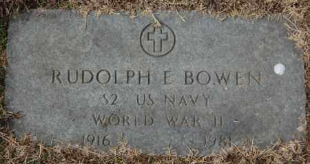 BOWEN (VETERAN WWII), RUDOLPH E - Poinsett County, Arkansas | RUDOLPH E BOWEN (VETERAN WWII) - Arkansas Gravestone Photos