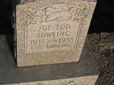 BOWLING, JOE EDD - Poinsett County, Arkansas | JOE EDD BOWLING - Arkansas Gravestone Photos