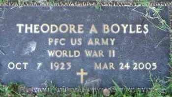 BOYLES  (VETERAN WWII), THEODORE A. - Poinsett County, Arkansas | THEODORE A. BOYLES  (VETERAN WWII) - Arkansas Gravestone Photos
