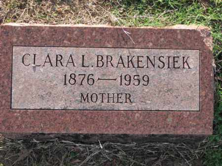 BRAKENSIEK, CLARA L. - Poinsett County, Arkansas | CLARA L. BRAKENSIEK - Arkansas Gravestone Photos