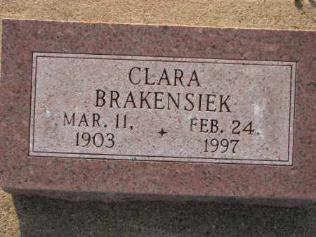 BRAKENSIEK, CLARA - Poinsett County, Arkansas | CLARA BRAKENSIEK - Arkansas Gravestone Photos