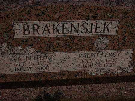 BENTON BRAKENSIEK, EVA - Poinsett County, Arkansas | EVA BENTON BRAKENSIEK - Arkansas Gravestone Photos