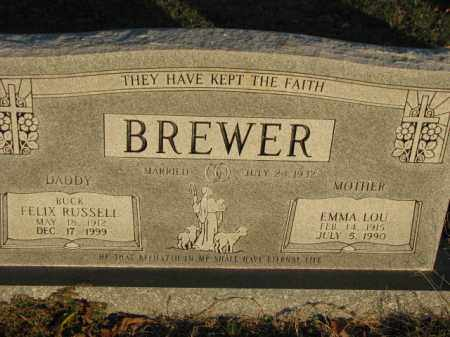 BREWER, EMMA LOU - Poinsett County, Arkansas | EMMA LOU BREWER - Arkansas Gravestone Photos