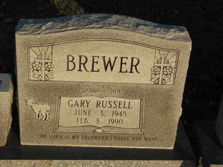 BREWER, GARY RUSSELL - Poinsett County, Arkansas | GARY RUSSELL BREWER - Arkansas Gravestone Photos