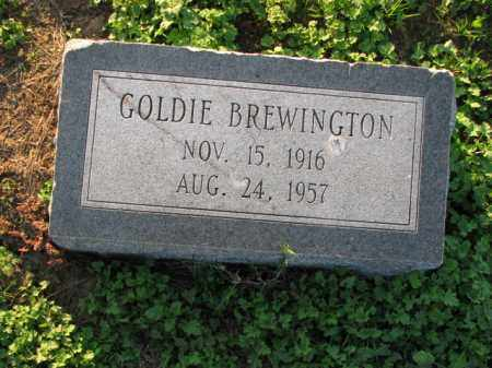 BREWINGTON, GOLDIE - Poinsett County, Arkansas | GOLDIE BREWINGTON - Arkansas Gravestone Photos