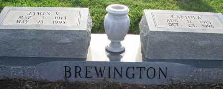 BREWINGTON, JAMES V. - Poinsett County, Arkansas | JAMES V. BREWINGTON - Arkansas Gravestone Photos