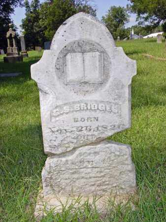 BRIDGES, GEORGE S. - Poinsett County, Arkansas | GEORGE S. BRIDGES - Arkansas Gravestone Photos