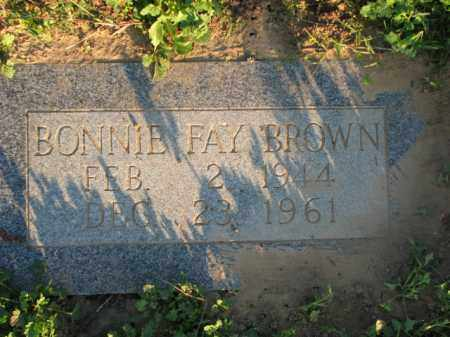 BROWN, BONNIE FAY - Poinsett County, Arkansas | BONNIE FAY BROWN - Arkansas Gravestone Photos