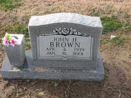 BROWN, JOHN H. - Poinsett County, Arkansas | JOHN H. BROWN - Arkansas Gravestone Photos