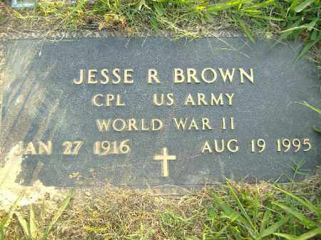 BROWN  (VETERAN WWII), JESSE R - Poinsett County, Arkansas | JESSE R BROWN  (VETERAN WWII) - Arkansas Gravestone Photos