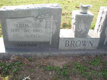 BROWN, LILLIW - Poinsett County, Arkansas | LILLIW BROWN - Arkansas Gravestone Photos