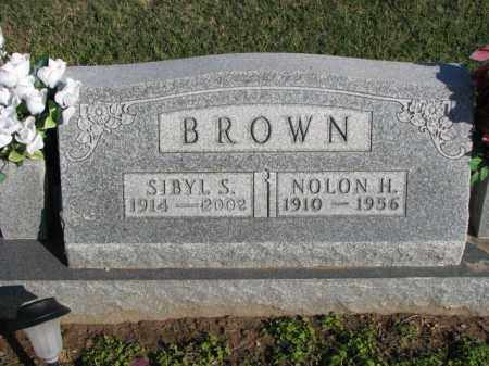 BROWN, NOLON H. - Poinsett County, Arkansas | NOLON H. BROWN - Arkansas Gravestone Photos