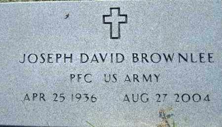 BROWNLEE  (VETERAN), JOSEPH DAVID - Poinsett County, Arkansas | JOSEPH DAVID BROWNLEE  (VETERAN) - Arkansas Gravestone Photos