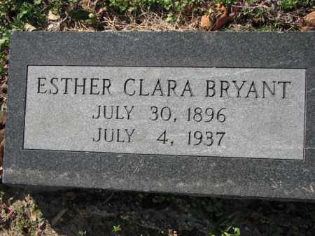 BRYANT, ESTHER CLARA - Poinsett County, Arkansas | ESTHER CLARA BRYANT - Arkansas Gravestone Photos