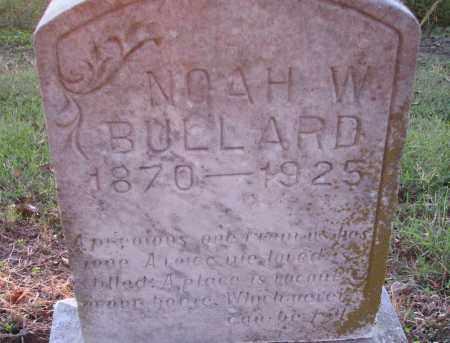 W. BULLARD, NOAH - Poinsett County, Arkansas | NOAH W. BULLARD - Arkansas Gravestone Photos