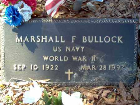 BULLOCK (VETERAN WWII), MARSHALL FAGAN - Poinsett County, Arkansas | MARSHALL FAGAN BULLOCK (VETERAN WWII) - Arkansas Gravestone Photos