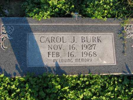 BURK, CAROL J. - Poinsett County, Arkansas | CAROL J. BURK - Arkansas Gravestone Photos