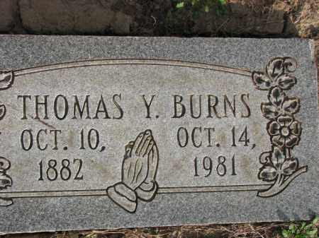 BURNS, THOMAS Y. - Poinsett County, Arkansas | THOMAS Y. BURNS - Arkansas Gravestone Photos