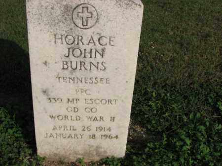 BURNS (VETERAN WWII), HORACE JOHN - Poinsett County, Arkansas | HORACE JOHN BURNS (VETERAN WWII) - Arkansas Gravestone Photos