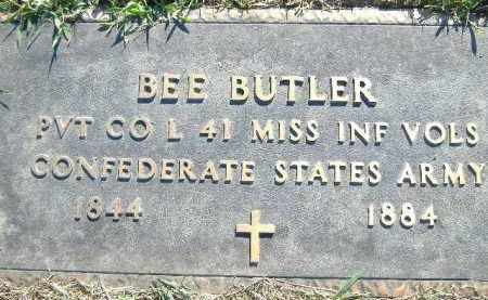 BUTLER (VETERAN CSA), BEE - Poinsett County, Arkansas | BEE BUTLER (VETERAN CSA) - Arkansas Gravestone Photos