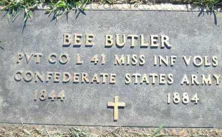 BUTLER (VETERAN CSA), BEE - Poinsett County, Arkansas | BEE BUTLER (VETERAN CSA) - Arkansas Gravestone Photos