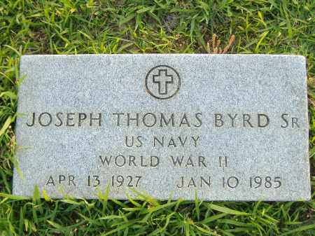 BYRD, SR  (VETERAN WWII), JOSEPH THOMAS - Poinsett County, Arkansas | JOSEPH THOMAS BYRD, SR  (VETERAN WWII) - Arkansas Gravestone Photos