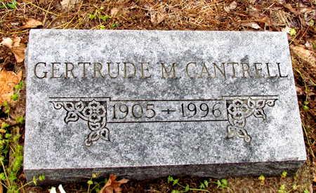 CANTRELL, GERTRUDE M. - Poinsett County, Arkansas | GERTRUDE M. CANTRELL - Arkansas Gravestone Photos