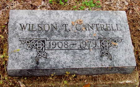CANTRELL, WILSON T. - Poinsett County, Arkansas | WILSON T. CANTRELL - Arkansas Gravestone Photos