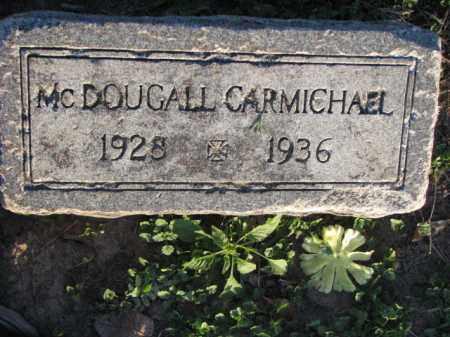 CARMICHAEL, MCDOUGALL - Poinsett County, Arkansas | MCDOUGALL CARMICHAEL - Arkansas Gravestone Photos