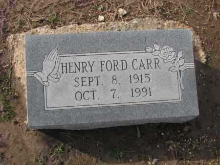CARR, HENRY FORD - Poinsett County, Arkansas | HENRY FORD CARR - Arkansas Gravestone Photos