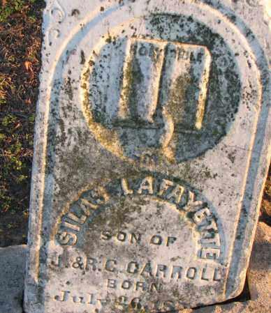 CARROLL, SILAS LAFAYETTE - Poinsett County, Arkansas | SILAS LAFAYETTE CARROLL - Arkansas Gravestone Photos