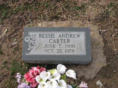 ANDREW CARTER, BESSIE - Poinsett County, Arkansas | BESSIE ANDREW CARTER - Arkansas Gravestone Photos