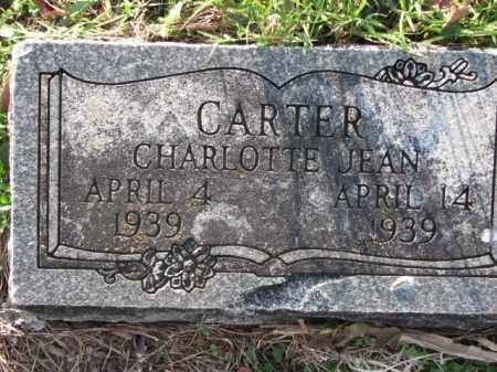 CARTER, CHARLOTTE JEAN - Poinsett County, Arkansas | CHARLOTTE JEAN CARTER - Arkansas Gravestone Photos