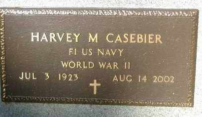 CASEBIER  (VETERAN WWII), HARVEY M. - Poinsett County, Arkansas | HARVEY M. CASEBIER  (VETERAN WWII) - Arkansas Gravestone Photos