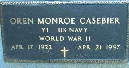 CASEBIER  (VETERAN WWII), OREN MONROE - Poinsett County, Arkansas | OREN MONROE CASEBIER  (VETERAN WWII) - Arkansas Gravestone Photos