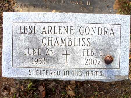 CHAMBLISS, LESI ARLENE - Poinsett County, Arkansas | LESI ARLENE CHAMBLISS - Arkansas Gravestone Photos