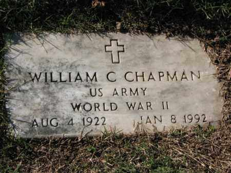 CHAPMAN (VETERAN WWII), WILLIAM C - Poinsett County, Arkansas | WILLIAM C CHAPMAN (VETERAN WWII) - Arkansas Gravestone Photos