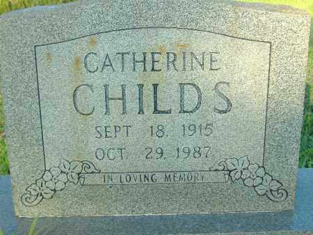 CHILDS, CATHERINE - Poinsett County, Arkansas | CATHERINE CHILDS - Arkansas Gravestone Photos