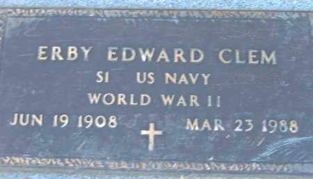 CLEM  (VETERAN WWI), ERBY EDWARD - Poinsett County, Arkansas | ERBY EDWARD CLEM  (VETERAN WWI) - Arkansas Gravestone Photos