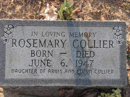 COLLIER, ROSEMAEY - Poinsett County, Arkansas | ROSEMAEY COLLIER - Arkansas Gravestone Photos